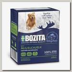 Консервы для собак Bozita Naturals Elk, Кусочки в желе с лосем