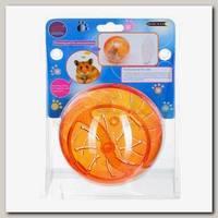 Игрушка для хомяка KREDO ШАР прогулочный в упаковке, диаметр 12,5 см