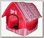Будка для животных Dogman Микс средняя, 35*35*45 см