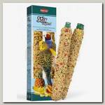 Лакомство для волнистых попугаев и экзотических птиц Padovan Stix tropical Cocorite Esotici Лакомые палочки с тропическими фруктами