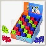 Игрушка для собак Nobby Поросята 10,5 см дисплей (набор) 24шт