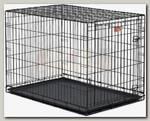 Клетка для животных MidWest iCrate 1 дверь черная