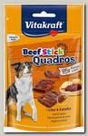 Лакомство для собак Vitakraft Beef Stick Quadros