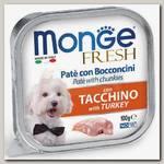 Консервы для собак Monge Dog Fresh индейка