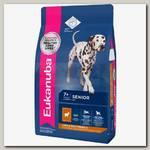 Eukanuba Senior All Breeds Lamb&Rice для пожилых собак всех пород, ягнёнок с рисом