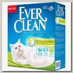 Наполнитель для кошачьего туалета Ever Clean Spring Garden комкующийся c нежным ароматом весеннего сада