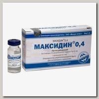Инъекционный противовирусный иммуностимулятор Микро-плюс Максидин 0,4, 5 мл