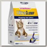Наполнитель для кошачьего туалета Neon Litter, Litter Pearls силикагель, комкующийся, белый
