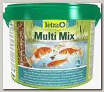 Корм для пруд.рыб Tetra Pond MultiMix (гранулы, хлопья, таблетки, гаммарус)