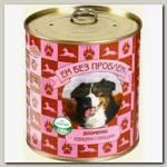 Консервы для собак Ем без проблем, со вкусом говядины и овощей
