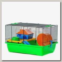 Клетка для грызунов, INTER-ZOO TEDDY LUX 43*28*23,5 см