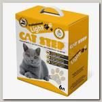 Наполнитель для кошачьего туалета Cat Step Professional Light комкующийся, минеральный