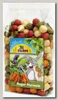 Лакомство для грызунов JR Farm Шарики из овощей и люцерны
