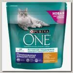 Сухой корм для домашних стерилизованных кошек и котов Purina One Sterilized