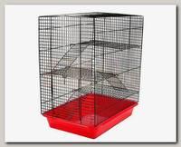 Клетка для грызунов №1, 3 этажа