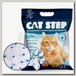 Наполнитель для кошачьих туалетов Cat Step Crystal Blue силикагель