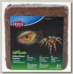 Кокосовый субстрат для террариумов Trixie, Тропики брикет
