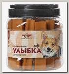 Лакомство для собак Green Qzin Улыбка Soft № 15 Мягкие жевательные палочки для здоровой шерсти, 18 шт
