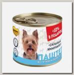 Консервы для собак всех пород Мнямс СИЛЬНЫЙ ИММУНИТЕТ Паштет из утки и перепела