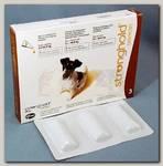 Zoetis Стронгхолд 60мг Капли Инсекто-акарицидные для собак от 5 до 10кг 12% 0,5мл*3пипетки, коричневые