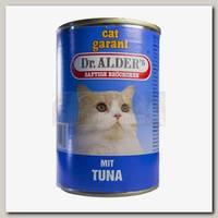 Консервы для взрослых кошек Dr. Alders Моя Леди Классик, сочные кусочки в соусе с тунцом