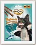 Лакомство для кошек Мнямс Рыбный фестиваль Лакомые палочки, лосось и форель