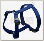 Шлейка для собак Ferplast Champion Small, синяя, 30-46 см