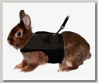 Шлейка-жилетка для кролика, TRIXIE, полиэстер/нейлон