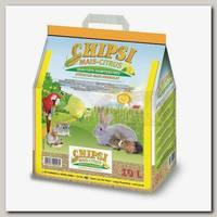 Наполнитель для грызунов Cat's Best Chipsi Mais Citrus Кукурузный ароматизированный
