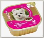 Консервы для щенков Dog Lunch, Мясные фрикадельки в нежном соусе со вкусом говядины (ламистер)