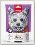 Лакомство для собак Wanpy Dog утиные сосиски