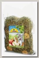 Сено для грызунов JR FARM луговое с яблоками