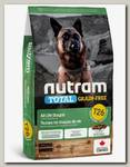 Беззерновой сухой корм для собак Nutram GF Lamb & Legumes Dog Food питание из мяса ягненка с бобовыми