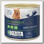 Консервы для собак Bozita Elk, мясной паштет со вкусом лося