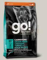 Беззерновой корм для собак всех пород GO! NATURAL HOLISTIC 4 вида мяса: Индейка, Курица, Лосось, Утка