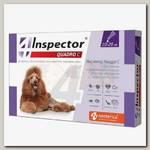 Инсекто-акарицидные капли Inspector Quadro C для собак массой от 10 до 25 кг от всех паразитов