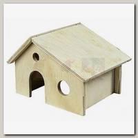 Домик для грызунов Дарэлл деревянный 17*13*h9,5 см.