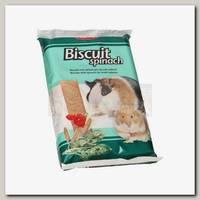 Лакомство для грызунов Padovan BISCUIT Spinach Бисквиты со шпинатом