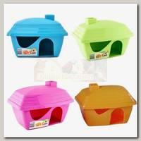 Дом для грызунов Savic Casita пластик, 15,5х11,5х10,5 см