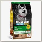 Корм сухой для взрослых собак Nutram Sound Adult Dog Lamb Recipe из мяса ягненка