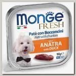 Консервы для собак Monge Dog Fresh утка