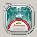 Консервы для собак Almo Nature Daily Menu паштет с говядиной и овощами (ламистер)