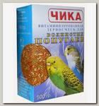 Корм для волнистых попугаев Чика без минеральных добавок