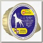 Консервы для собак VitAnimals Мясное ассорти (ламистер)