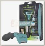 Фурминатор для маленьких кошек c длинной шерстью FURminator размера S
