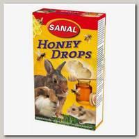 Лакомство для грызунов SANAL дропсы медовые