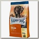 Сухой корм для собак Happy Dog Toscana Утка и Лосось