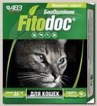 Ошейник для кошек АВЗ Фитодок репеллентный био 35 см, защита от блох до 3-х месяцев, от клещей до 5 недель