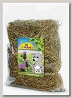 Сено для шиншилл JR Farm луговое с молочным чертополохом