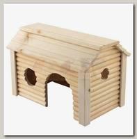 Домик для грызунов Дарэлл модель Усадьба (массив дерева) 19*31*h18,5см